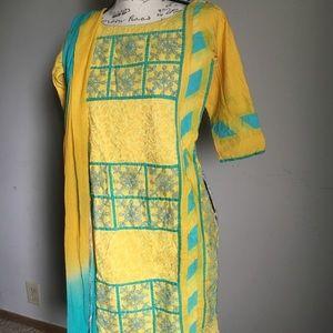 Indian/Pakistani cotton dress 😘❤️Size S